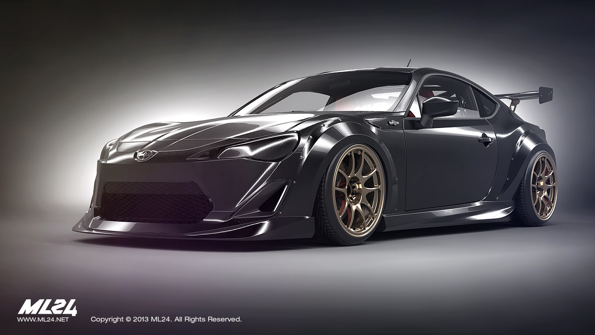 2013 scion fr s body kit. Black Bedroom Furniture Sets. Home Design Ideas