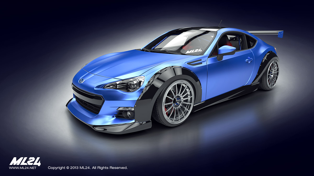 Ml24 Automotive Design Prototyping And Body Kits Wrx Wiring Diagram Subaru Brz Wide Kit