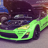 Top Tuner Scion FR-S Wide Body Kit