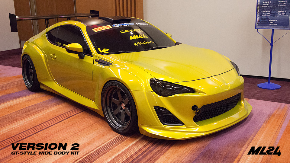 ML24 Scion FR-S Version 2 Wide Body Kit