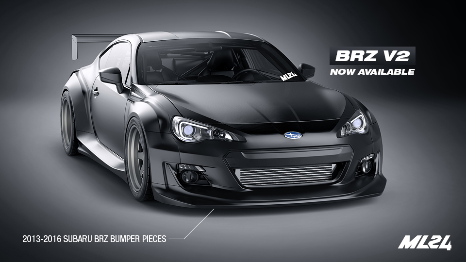 ML24 Subaru BRZ Version 2 Wide Body Kit