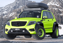 ML24 Mercedes-Benz GLK Wide Body Kit Concept