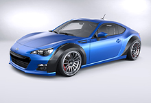 ML24 Subaru BRZ Wide Body Fender Arches